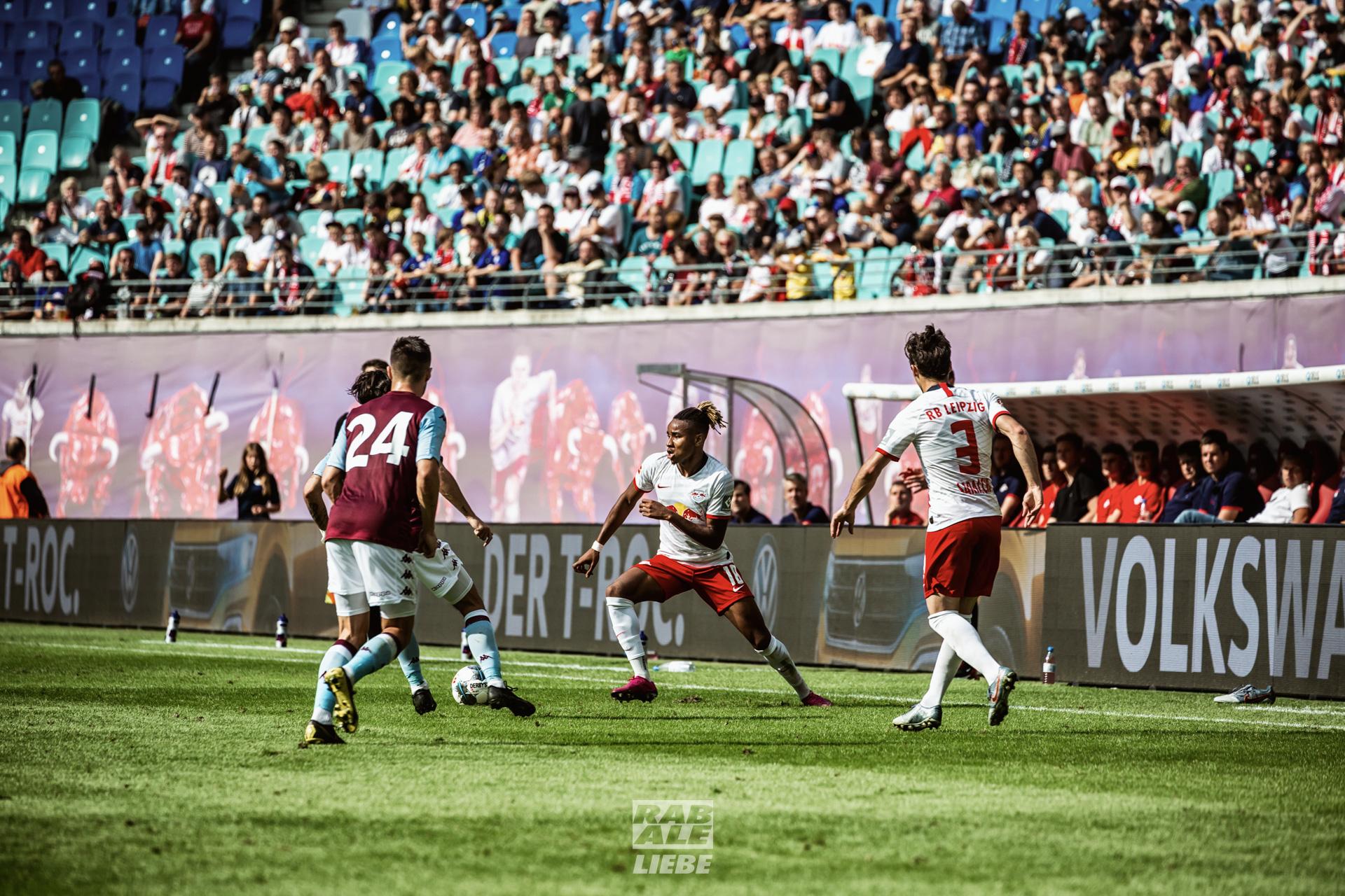 Testspiel: RB Leipzig -vs- Aston Villa