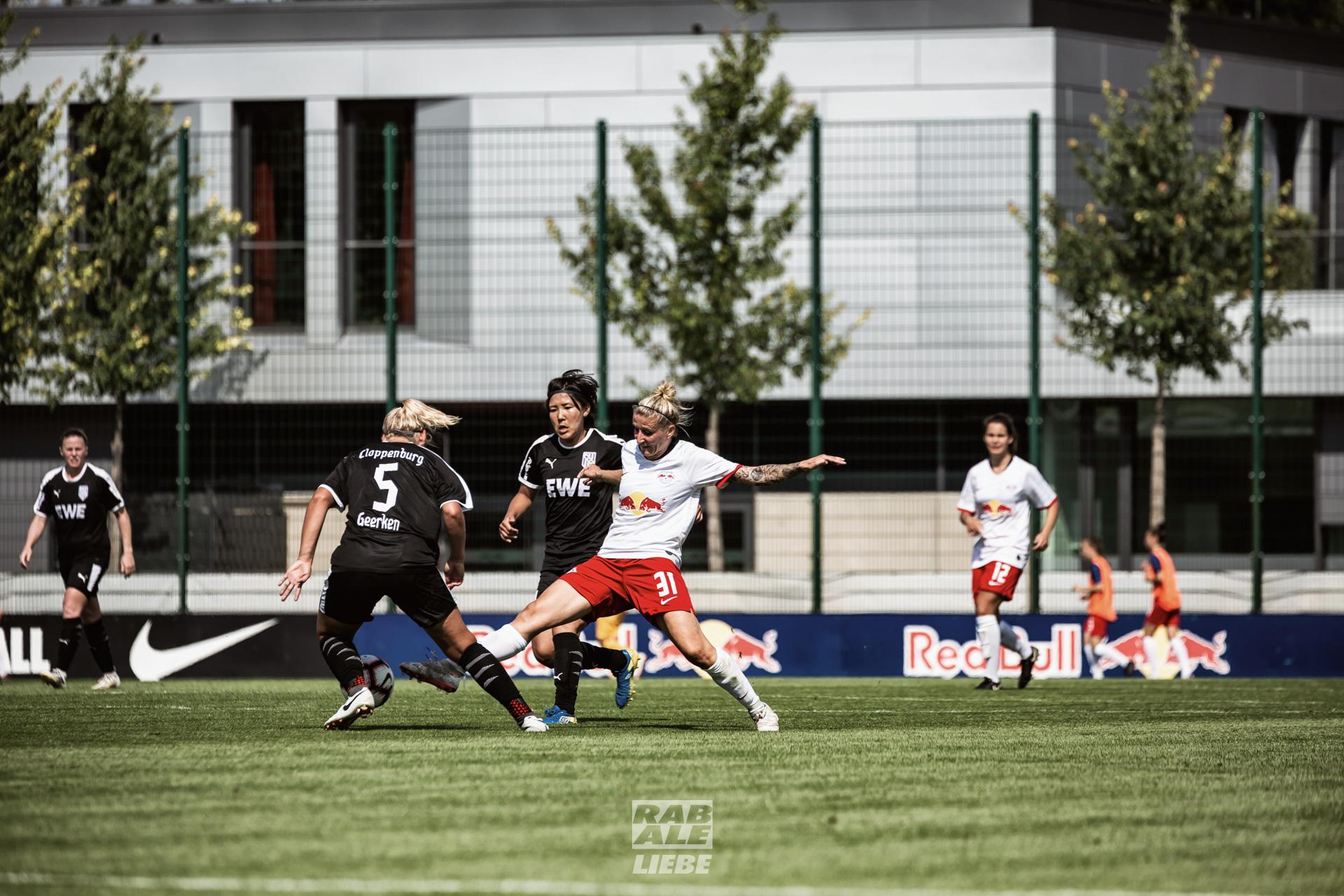 DFB-Pokal Frauen: RB Leipzig -vs- BV Cloppenburg