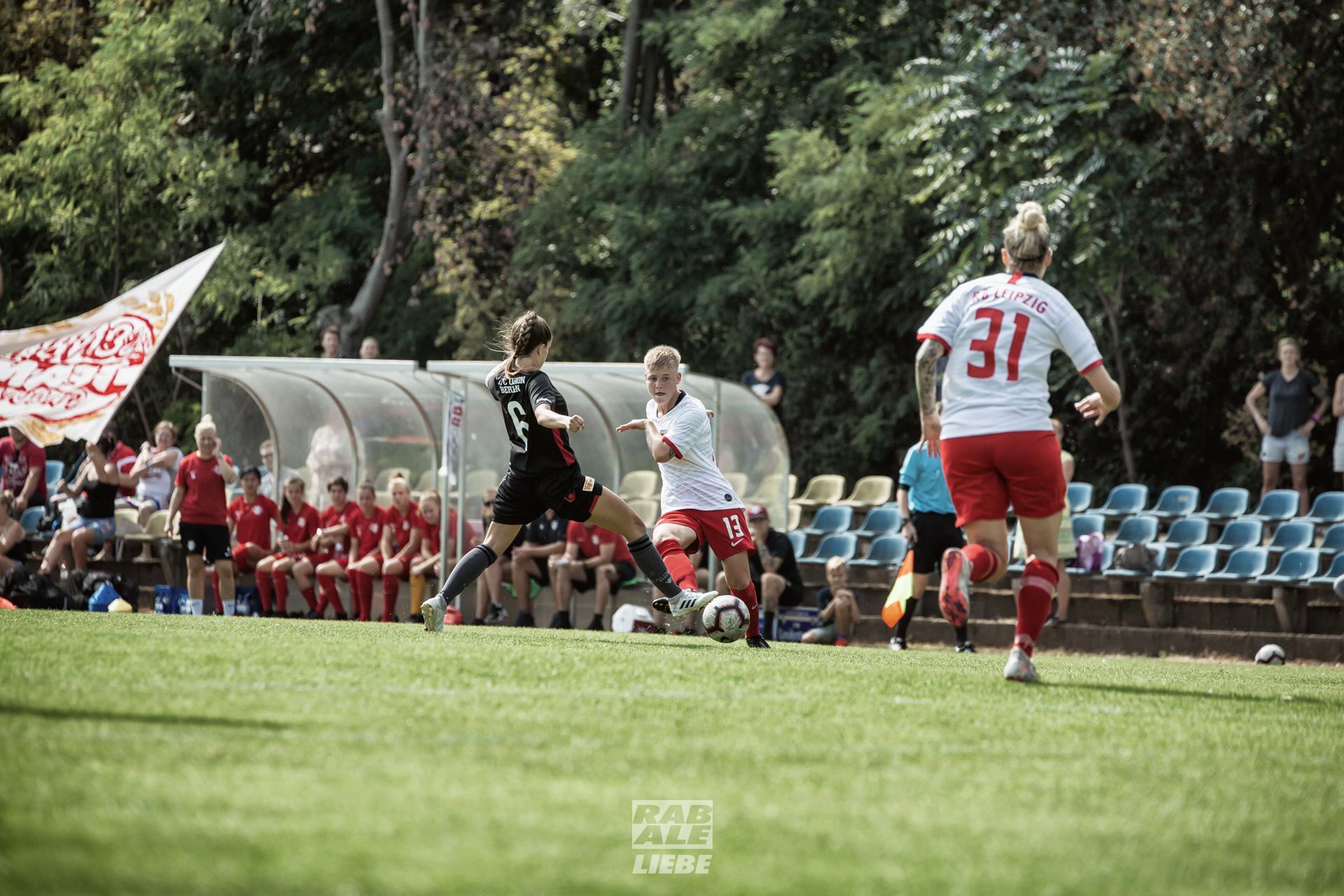 Regionalliga Nordost Frauen: RB Leipzig -vs- 1. FC Union Berlin