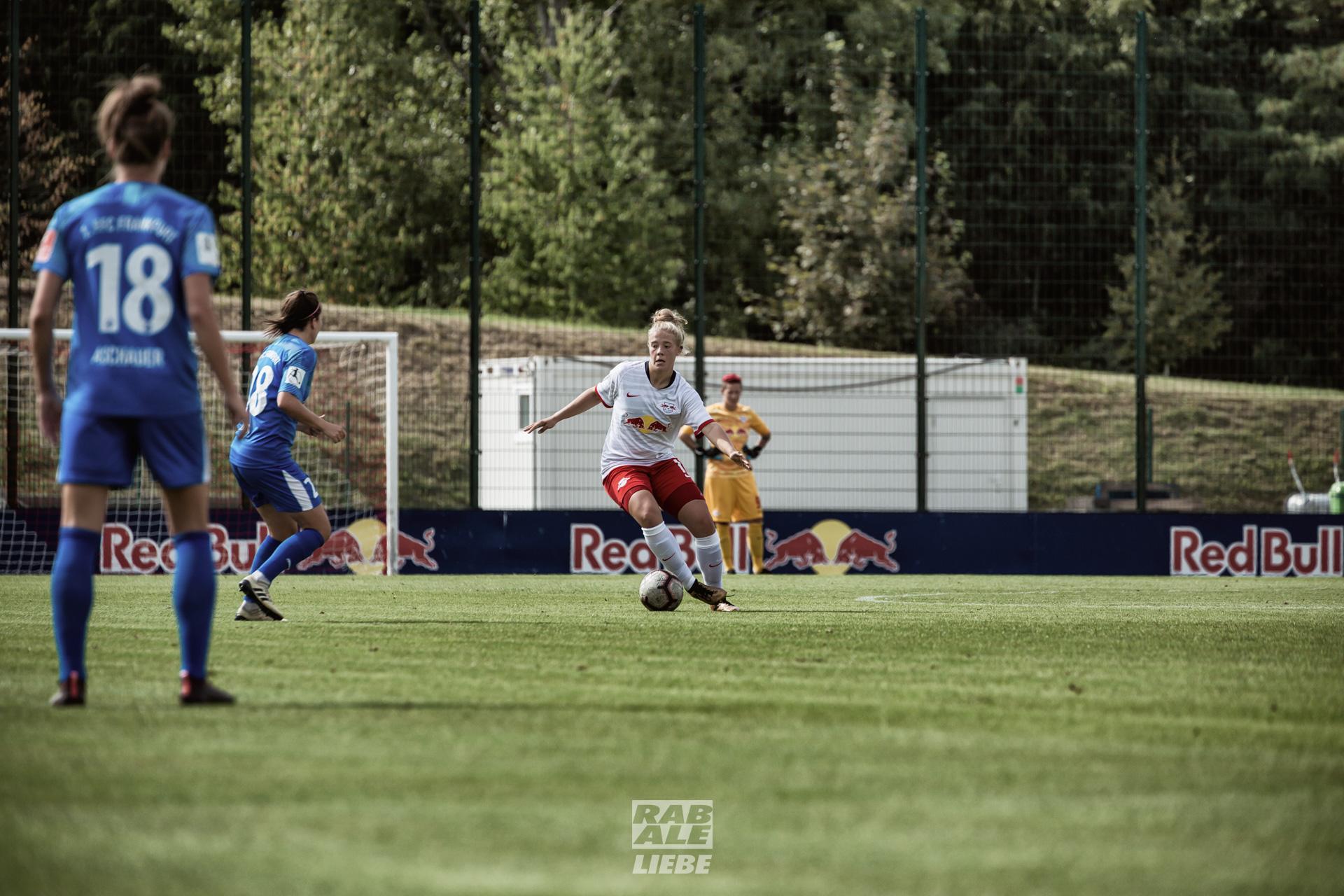 DFB-Pokal Frauen: RB Leipzig -vs- 1. FFC Frankfurt