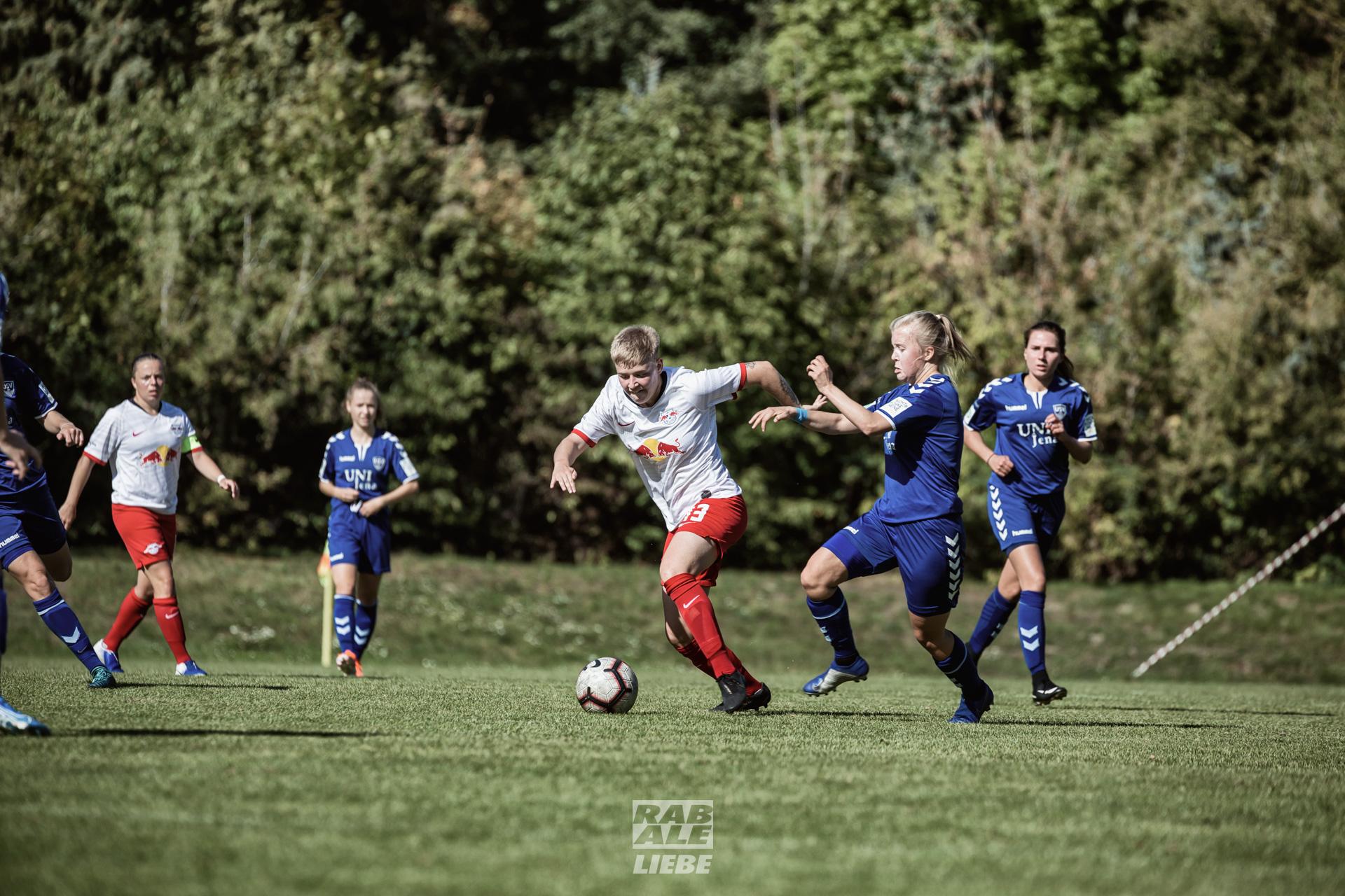 Regionalliga Nordost Frauen: RB Leipzig -vs- FF USV Jena II