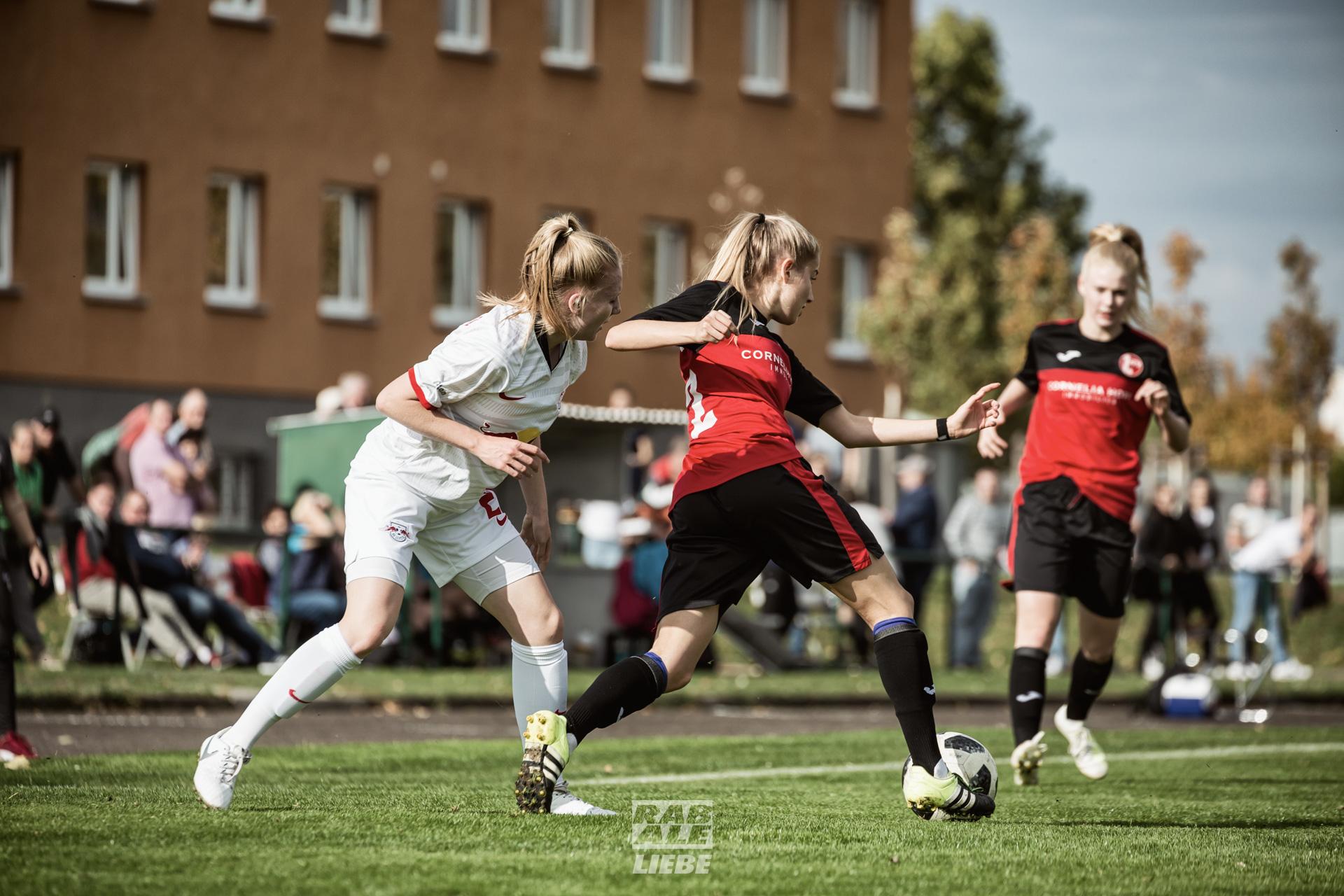Regionalliga Nordost Frauen: 1. FFV Erfurt -vs- RB Leipzig