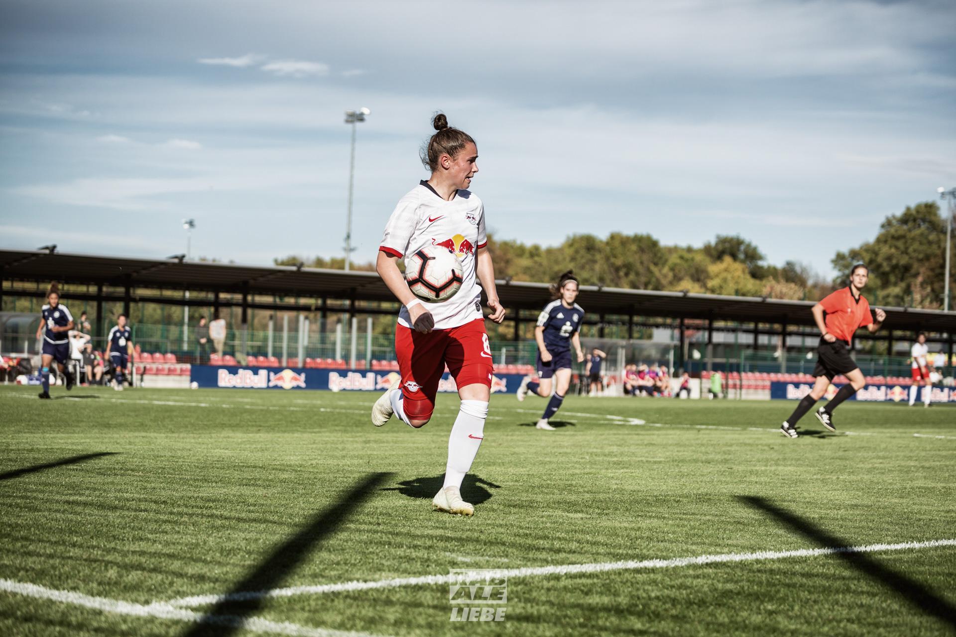 Regionalliga Nordost Frauen: RB Leipzig -vs- Blau-Weiß Hohen Neuendorf