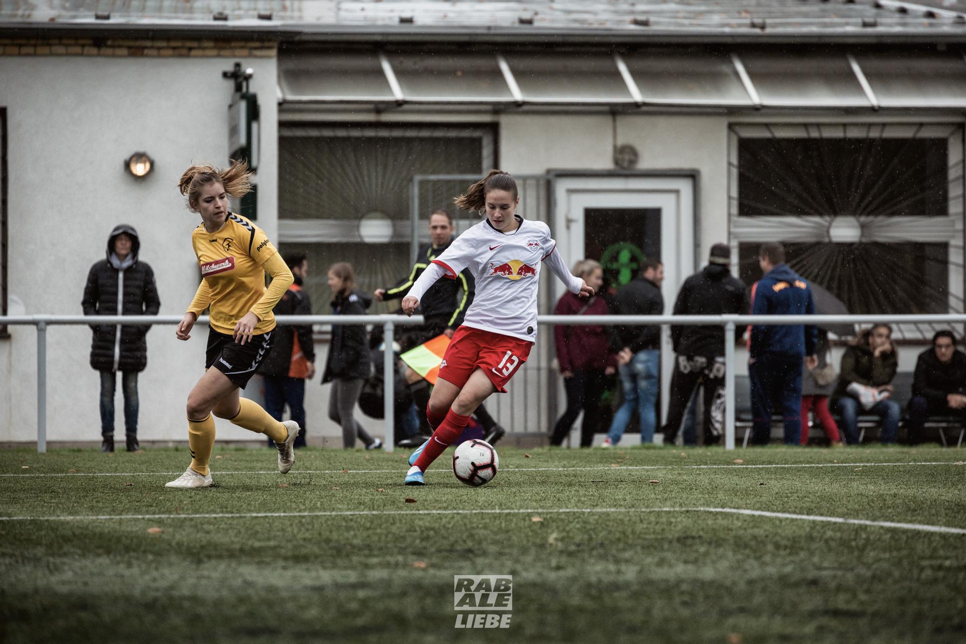 Landesliga Frauen: RB Leipzig II -vs- 1. FFC Fortuna Dresden