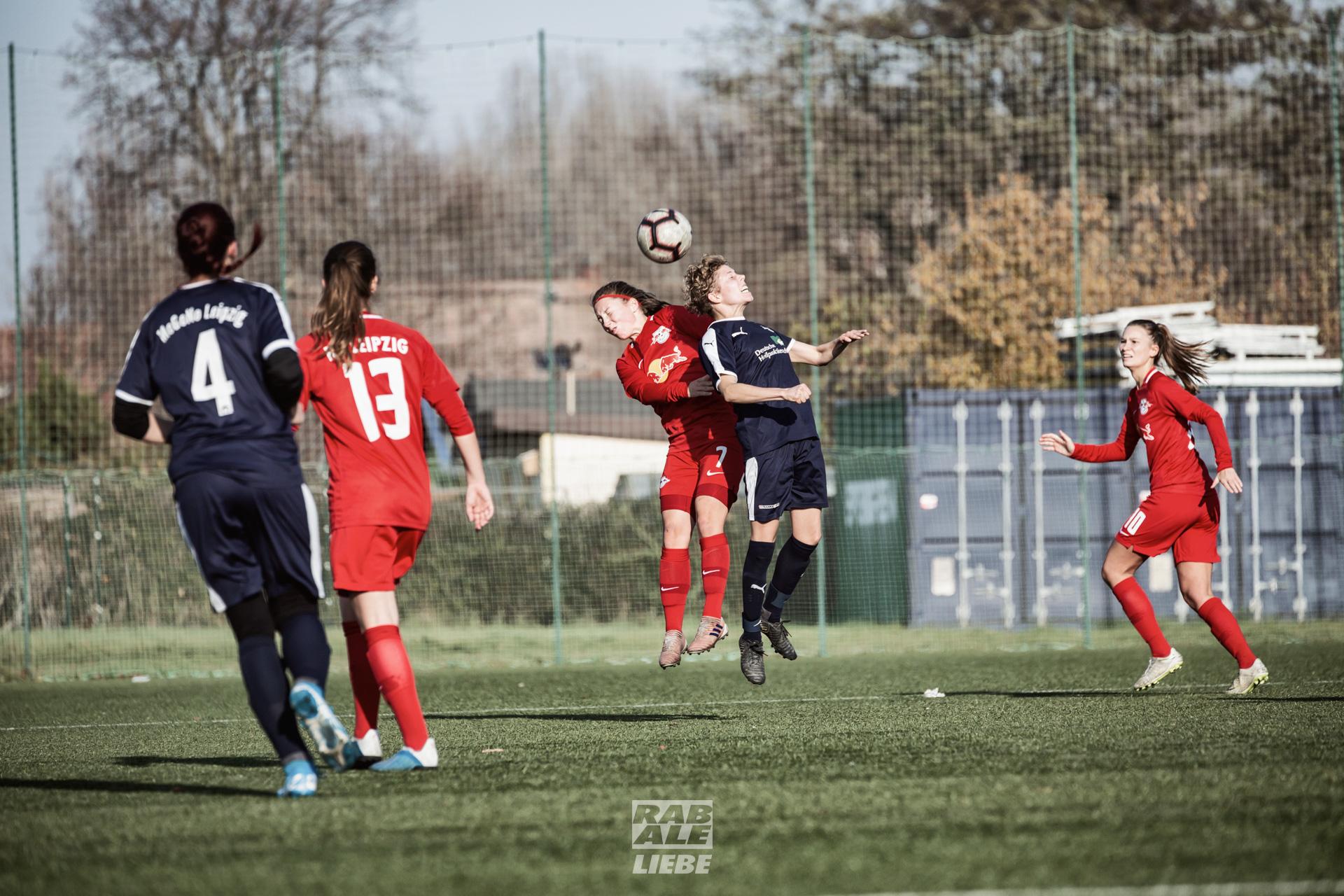 Landesliga Frauen: RB Leipzig II -vs- Motor Gohlis-Nord