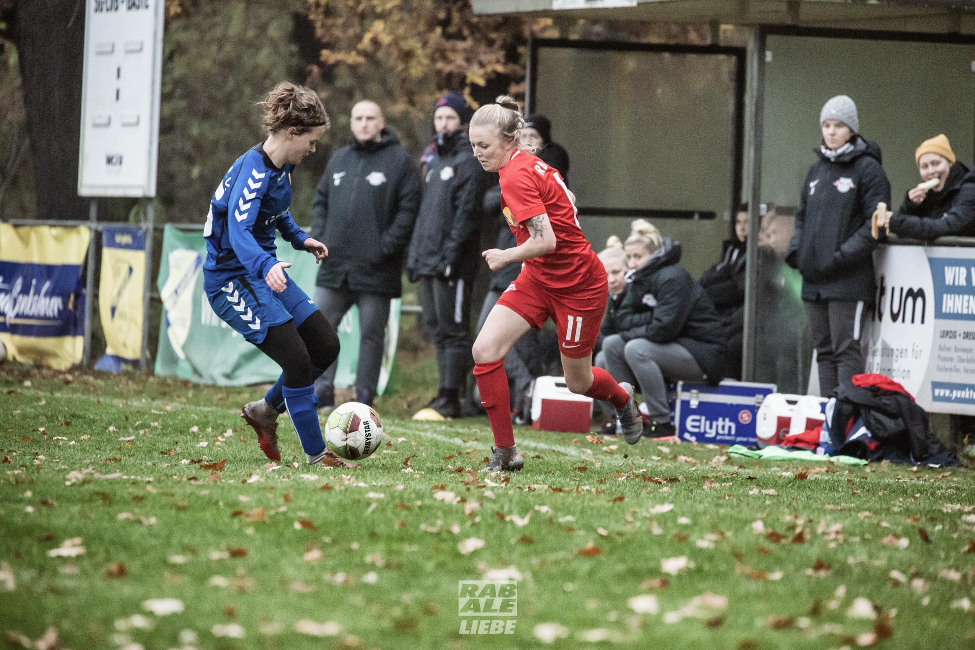Landespokal Frauen: SG LVB -vs- RB Leipzig