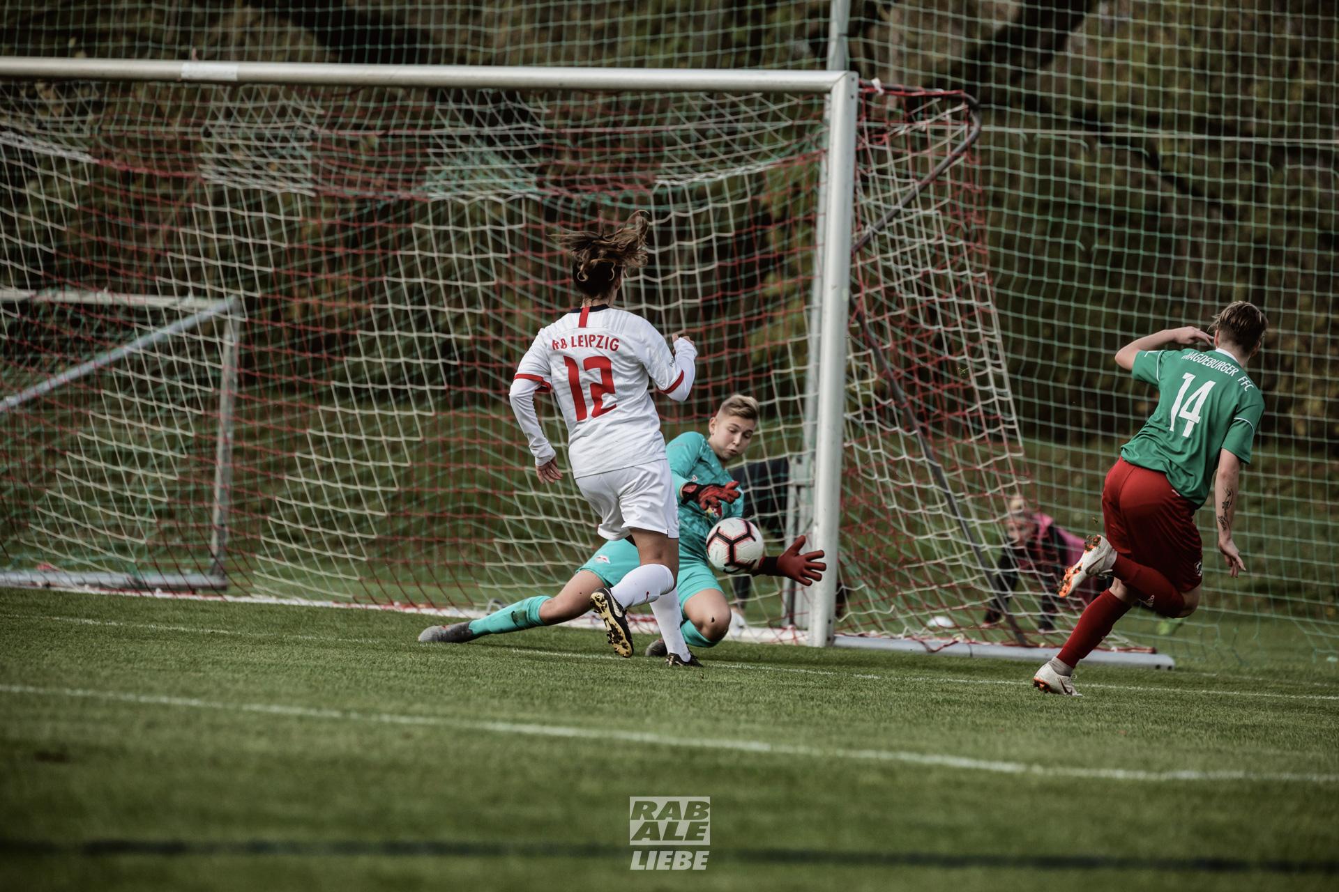 Regionalliga Nordost Frauen: RB Leipzig -vs- Magdeburger FFC