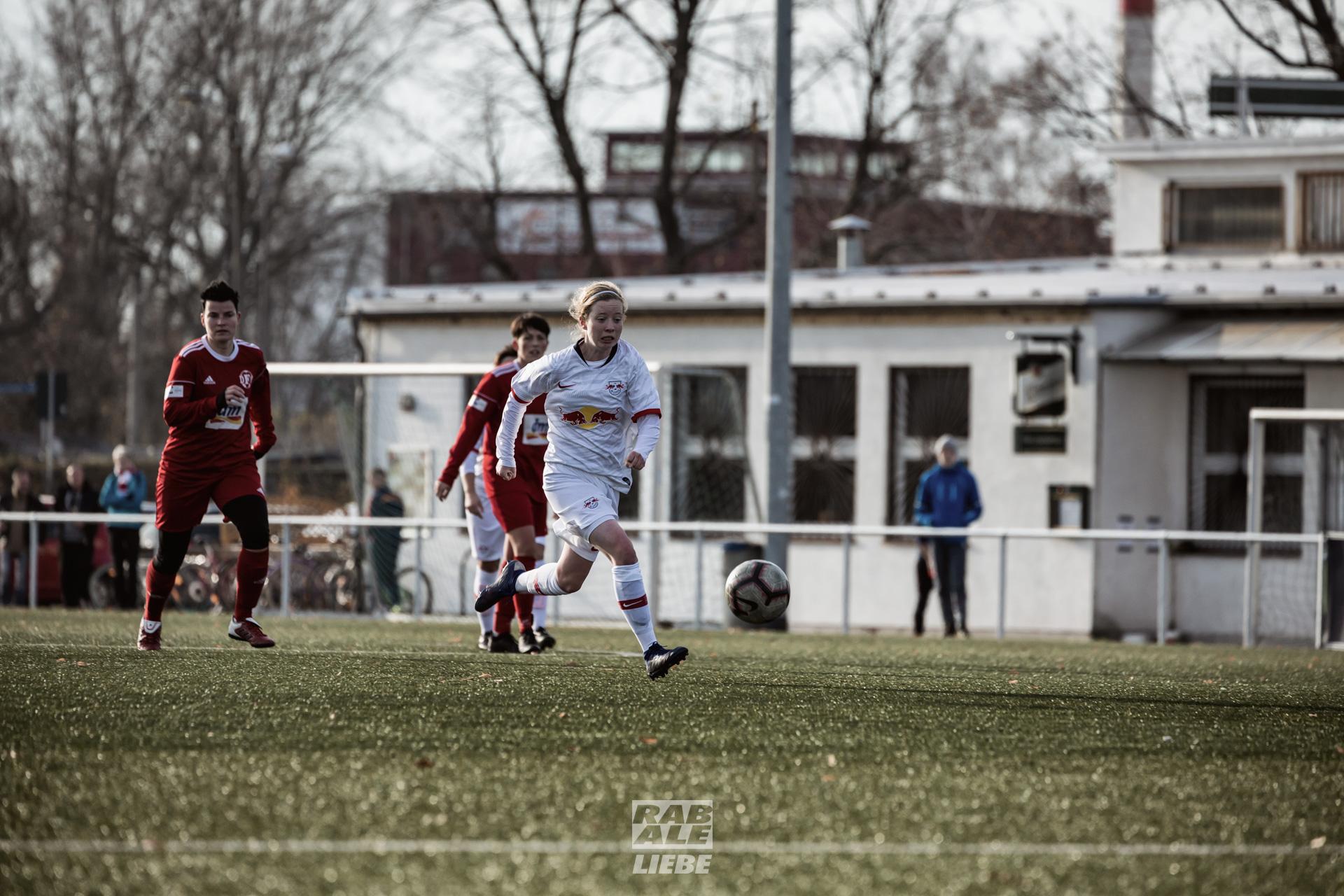 Landesliga Frauen: RB Leipzig II -vs- DFC Westsachsen Zwickau