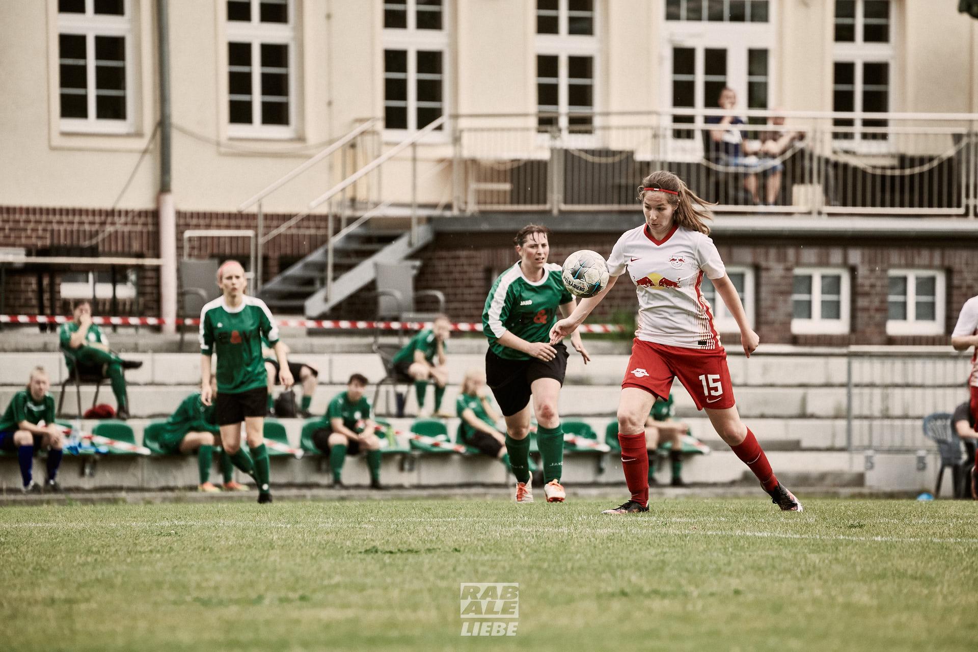 Testspiel: Eintracht Leipzig-Süd -vs- RB Leipzig II