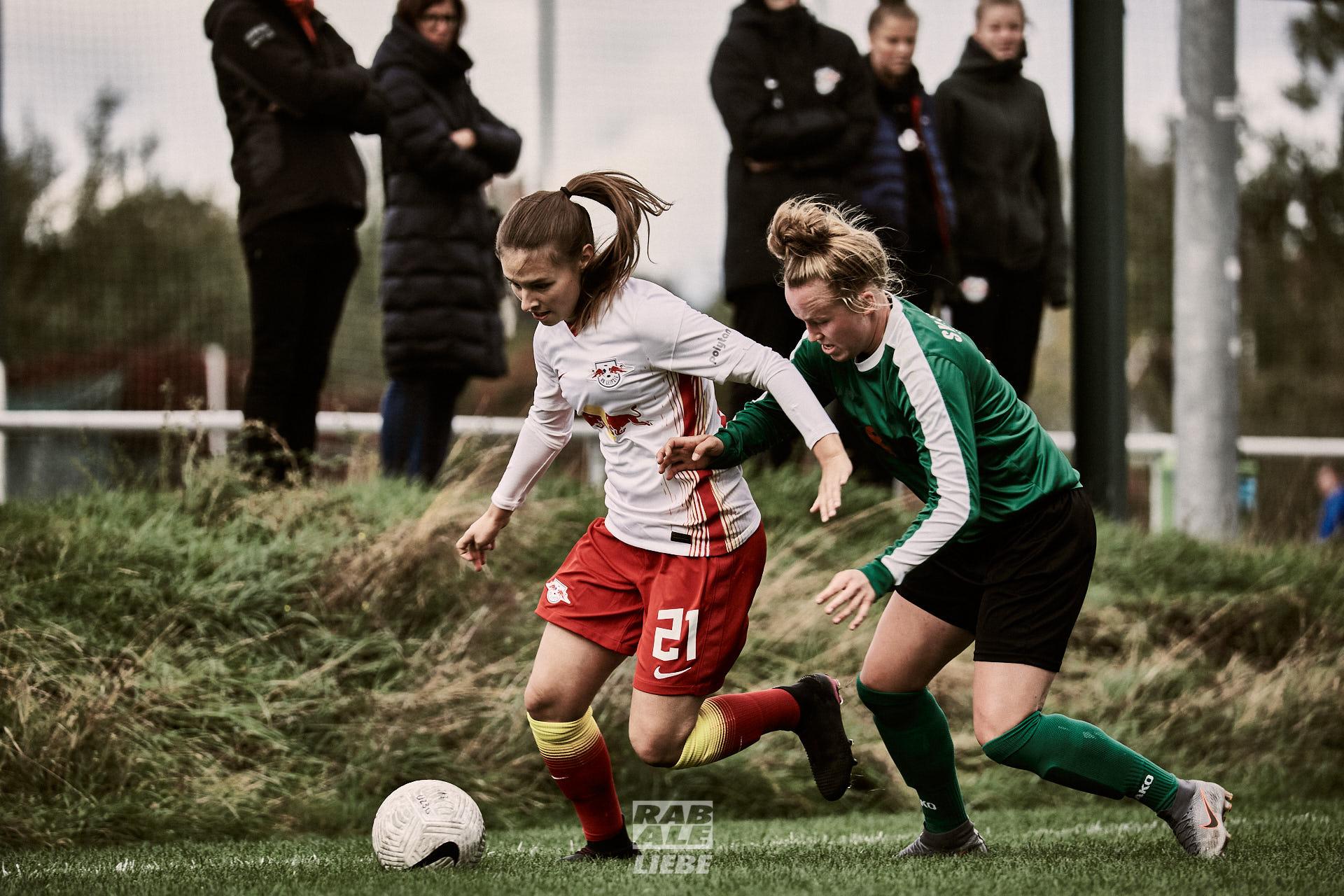 Regionalliga: RB Leipzig U23w -vs- SV Eintracht Leipzig-Süd